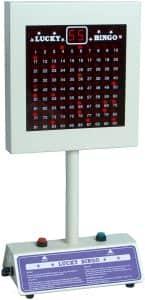 Máquina de Bingo electrónica - Lucky Bingo - Juegos de mesa de Bingo - Los mejores bingos