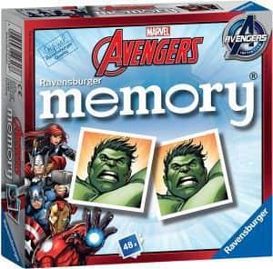 Memory de los Vengadores - Juegos de mesa de Marvel - Los mejores juegos de mesa de los Vengadores de Marvel