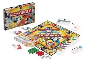 Monopoly de DC en inglés - Juegos de mesa de Batman de DC - Los mejores juegos de mesa de Batman de DC