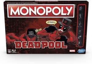 Monopoly de Deadpool de Marvel - Juegos de mesa de Marvel - Los mejores juegos de mesa de los Vengadores de Marvel