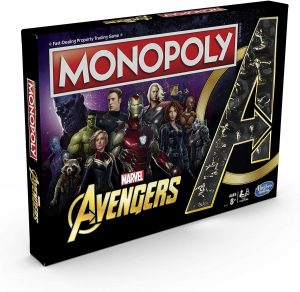 Monopoly de los Vengadores de Marvel - Juegos de mesa de Marvel - Los mejores juegos de mesa de los Vengadores de Marvel
