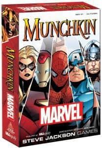 Munchkin Marvel - Juegos de mesa de Marvel - Los mejores juegos de mesa de los Vengadores de Marvel