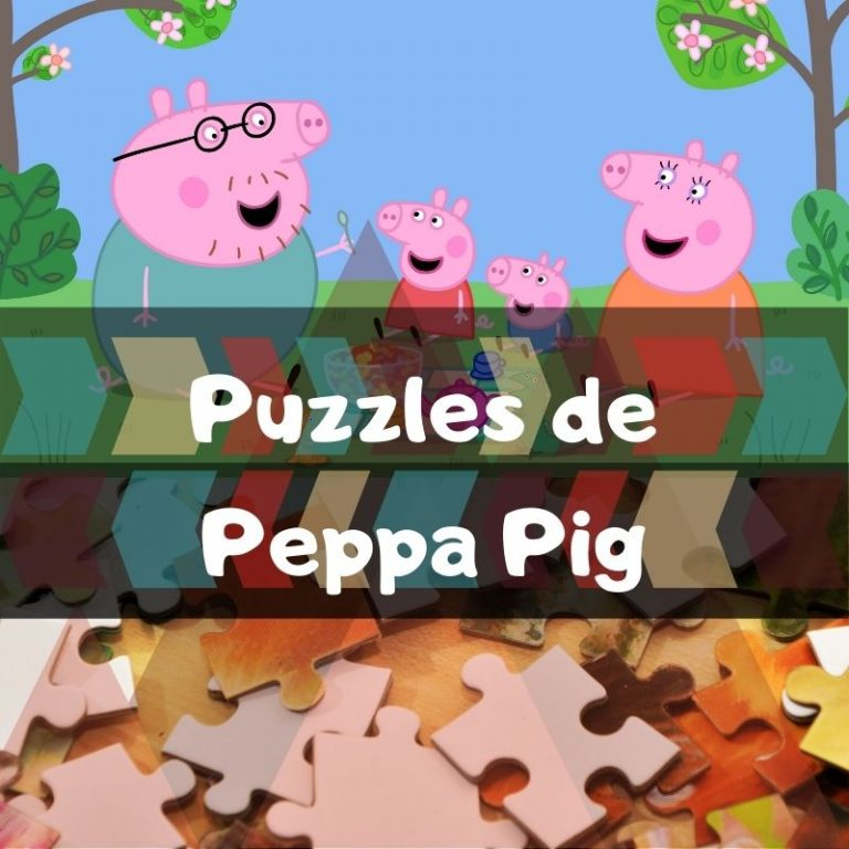 Los mejores puzzles de Peppa Pig