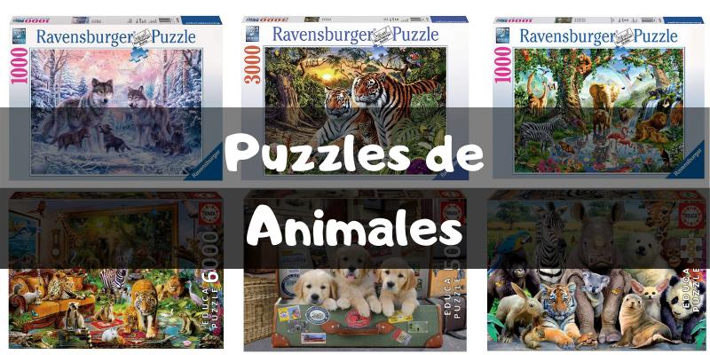 Puzzles de animales - Puzzles por categorías