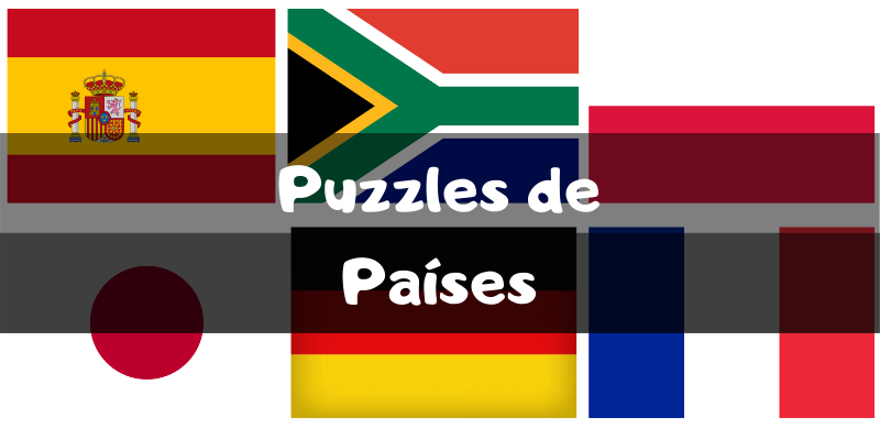 Puzzles de países - Puzzles por categorías