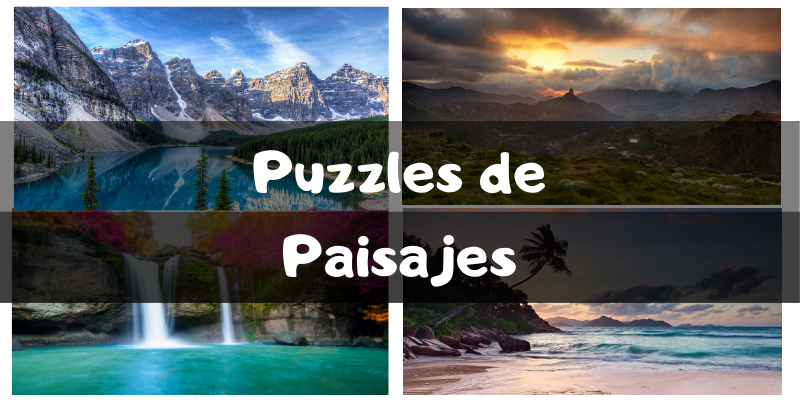 Puzzles de paisajes - Puzzles por categorías