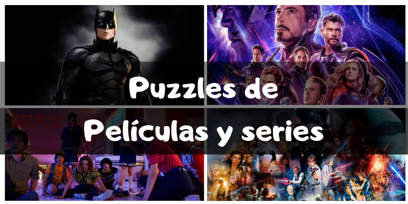 Puzzles de películas y series - Puzzles por categorías