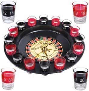 Ruleta de chupitos - Juegos de mesa para beber - Los mejores juegos de mesa de adultos y risas para beber