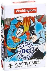 Set de cartas de la Liga de la Justicia - Juego de mesa de Funkoverse de Batman de Estrategia - Juegos de mesa de Batman de DC - Los mejores juegos de mesa de Batman de DC