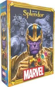 Splendor Marvel - Juegos de mesa de Marvel - Los mejores juegos de mesa de los Vengadores de Marvel