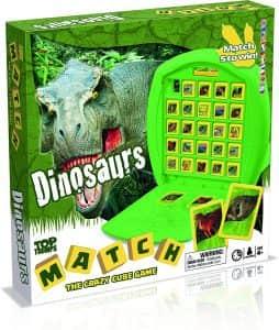 Top Trumps Match Dinosaurios - Juegos de mesa de Top Trumps Match - Los mejores juegos de mesa de Crazy cubes