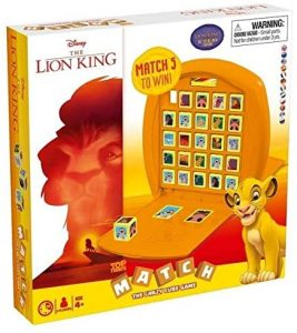 Top Trumps Match Rey león - Juegos de mesa de Top Trumps Match - Los mejores juegos de mesa de Crazy cubes