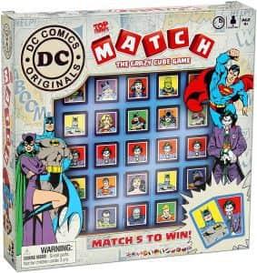 Top Trumps Match de DC - Juegos de mesa de Batman de DC - Los mejores juegos de mesa de Batman de DC
