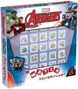 Top Trumps Match de los Vengadores de Marvel - Juegos de mesa de Top Trumps Match - Los mejores juegos de mesa de Crazy cubes