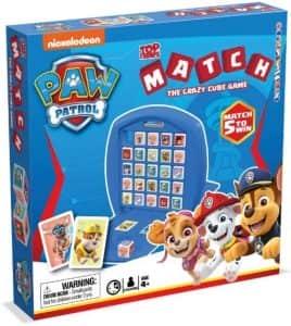 Top Trumps Match la Patrulla Canina - Juegos de mesa de Top Trumps Match - Los mejores juegos de mesa de Crazy cubes
