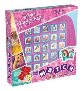 Top Trumps Princesas Disney - Juegos de mesa de Top Trumps Match - Los mejores juegos de mesa de Crazy cubes