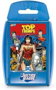 Top Trumps cartas de DC en inglés - Juegos de mesa de Batman de DC - Los mejores juegos de mesa de Batman de DC