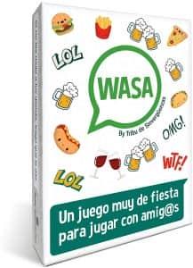 WASA - Juegos de mesa para beber - Los mejores juegos de mesa de adultos y risas para beber