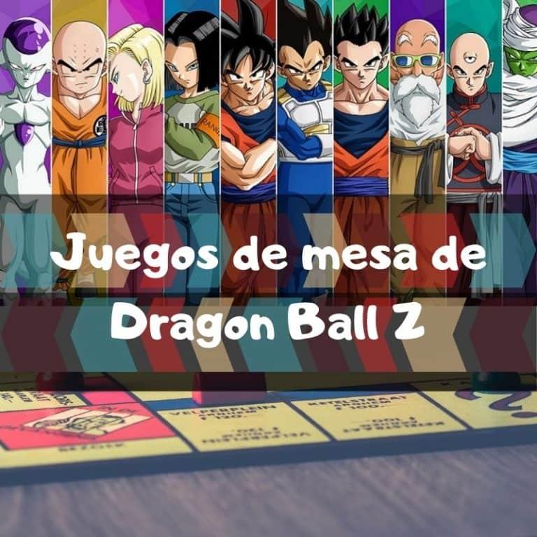 Los mejores juegos de mesa de Dragon Ball Z