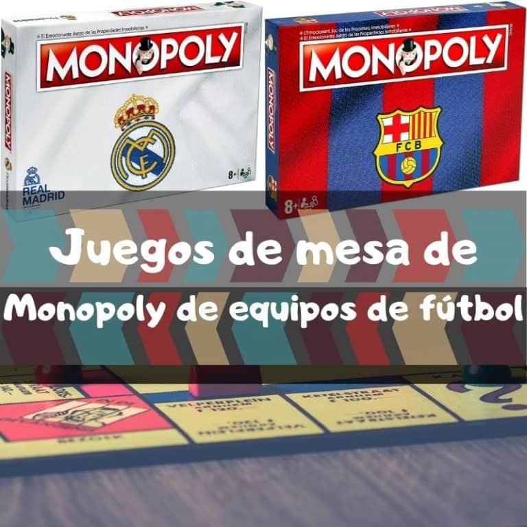Los mejores juegos de mesa de Monopoly de equipos de fútbol
