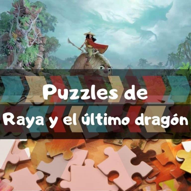 Lee más sobre el artículo Los mejores puzzles de Raya y el último dragón