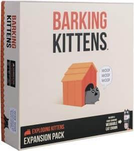 Expansión Barking Kittens en inglés - Juegos de mesa de Exploding Kittens - Los mejores juegos de mesa de Exploding Kittens