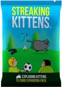 Expansión Streaking Kittens en inglés - Juegos de mesa de Exploding Kittens - Los mejores juegos de mesa de Exploding Kittens