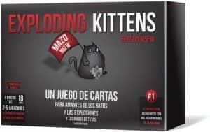 Exploding Kittens NSFW para mayores de 18 - Juegos de mesa de Exploding Kittens - Los mejores juegos de mesa de Exploding Kittens