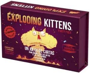 Exploding Kittens Party Pack - Juegos de mesa de Exploding Kittens - Los mejores juegos de mesa de Exploding Kittens
