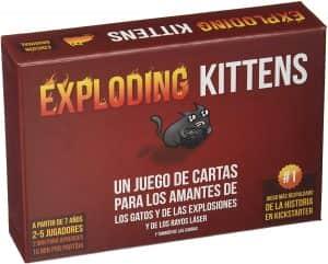 Exploding Kittens clásico - Juegos de mesa de Exploding Kittens - Los mejores juegos de mesa de Exploding Kittens