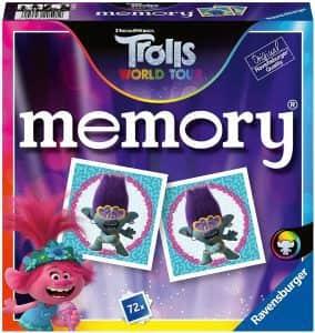 Juego de mesa Memory de Trolls - Juegos de mesa de Trolls World Tour - Los mejores juegos de mesa de Trolls