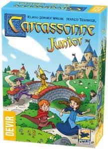 Juego de mesa de Carcassonne Junior - Juegos de mesa de para niños - Los mejores juegos de mesa de top 20 para niños