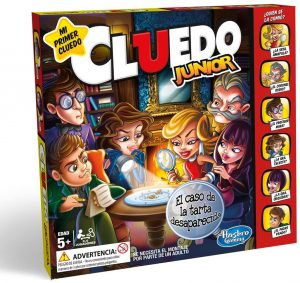 Juego de mesa de Cluedo Junior - Juegos de mesa de para niños - Los mejores juegos de mesa de top 20 para niños