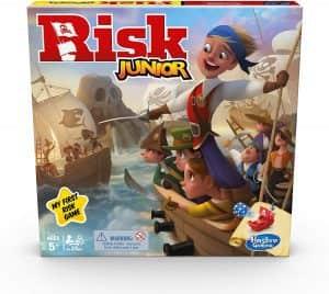 Juego de mesa de Risk Junior - Juegos de mesa de para niños - Los mejores juegos de mesa de top 20 para niños