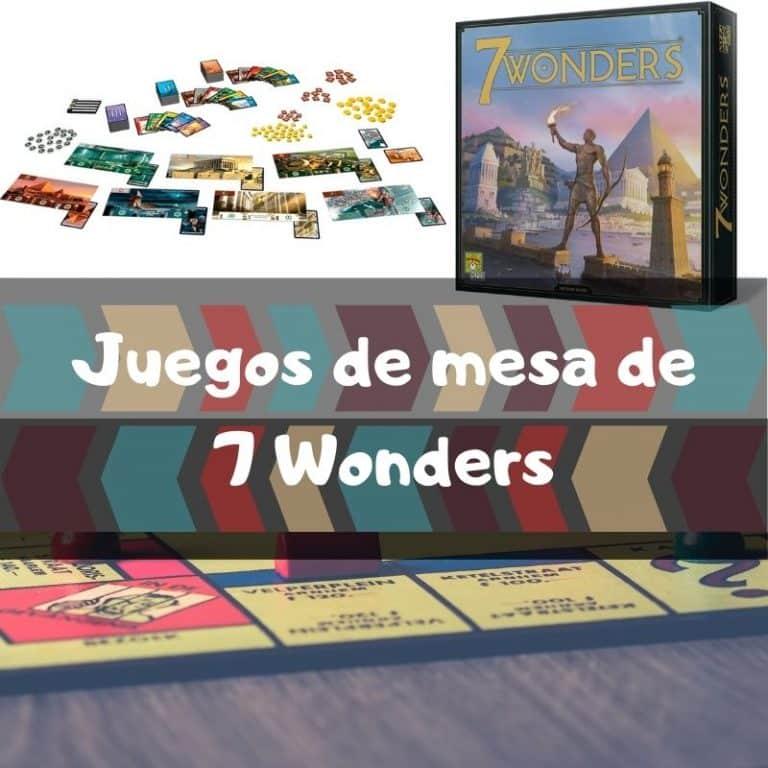 Los mejores juegos de mesa de 7 Wonders