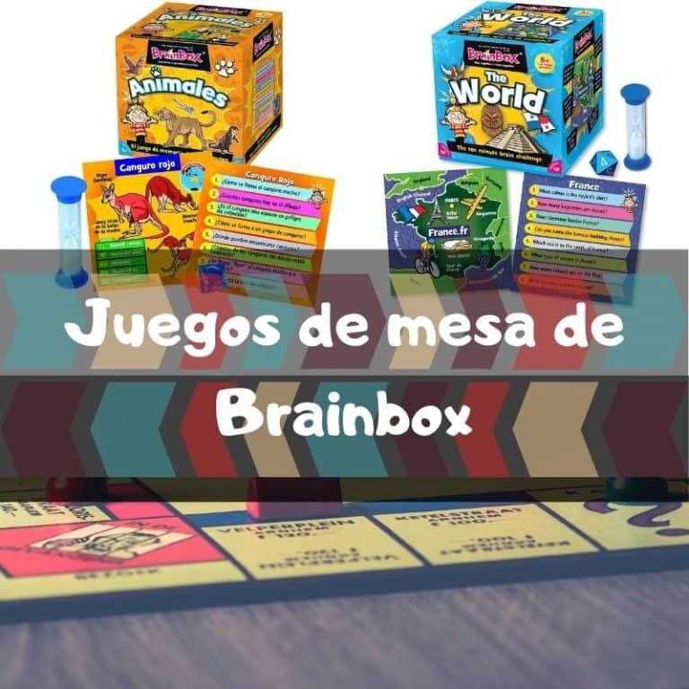 Los mejores juegos de mesa de Brainbox