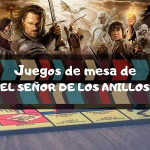 Juegos de mesa de El señor de los anillos - Los mejores juegos de mesa temáticos del señor de los anillos