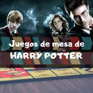 Juegos de mesa de Harry Potter - Los mejores juegos de mesa temáticos de Harry Potter