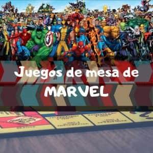 Juegos de mesa de Marvel - Los mejores juegos de mesa temáticos de Marvel de los Vengadores