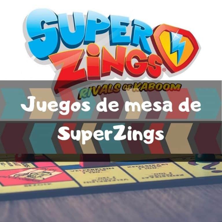 Los mejores juegos de mesa de SuperZings