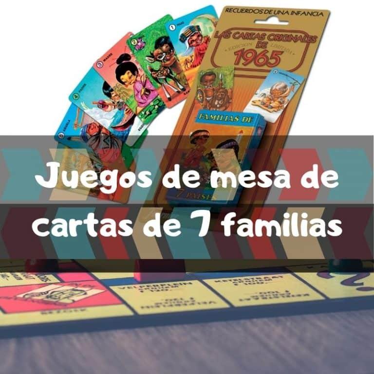 Los mejores juegos de mesa de cartas de 7 familias