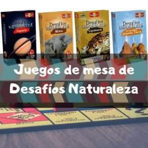 Juegos de mesa de desafíos naturaleza - Los mejores juegos de cartas de Desafíos de la Naturaleza