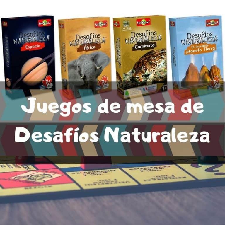 Los mejores juegos de mesa de cartas de Desafíos Naturaleza