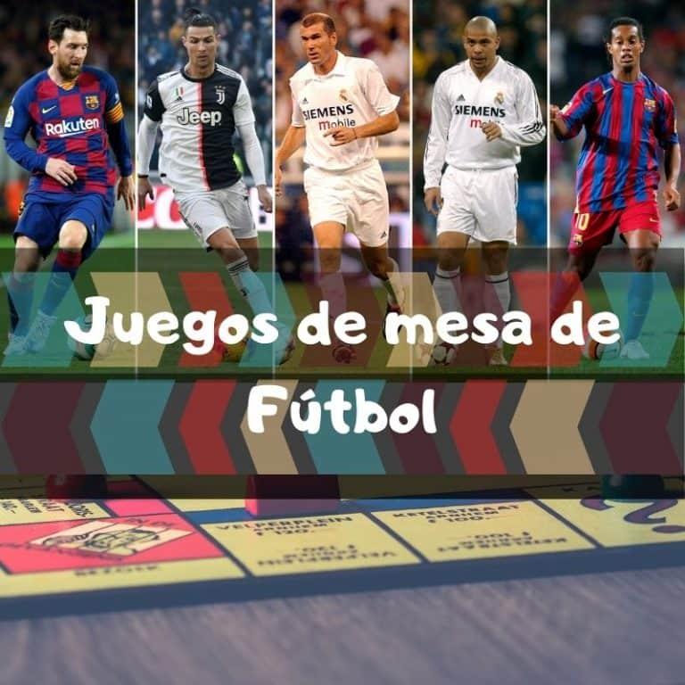Los mejores juegos de mesa de fútbol