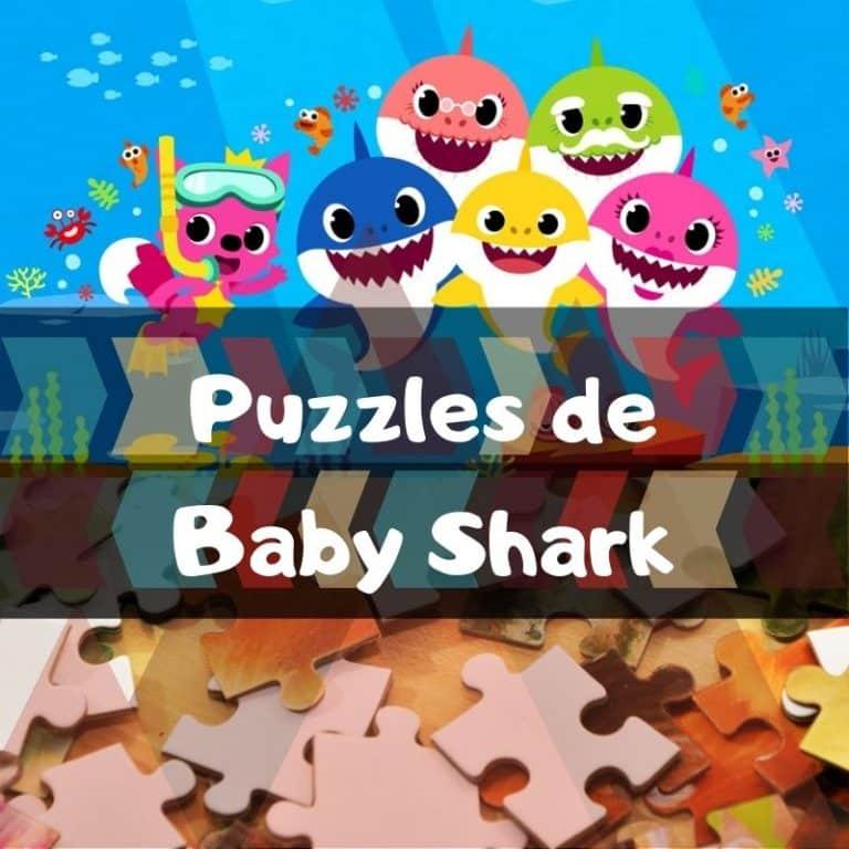 Los mejores puzzles de baby shark
