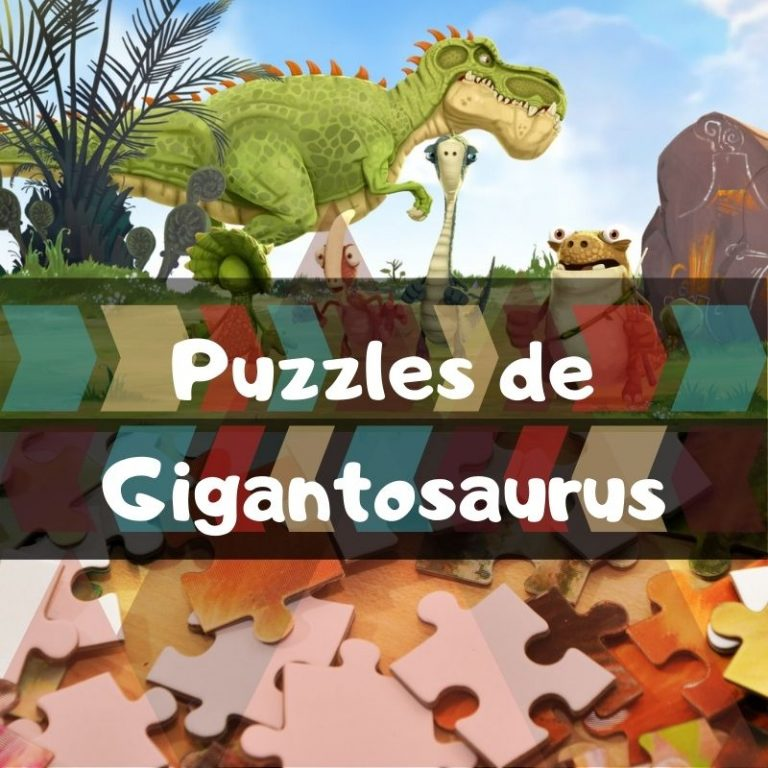 Los mejores puzzles de Gigantosaurus