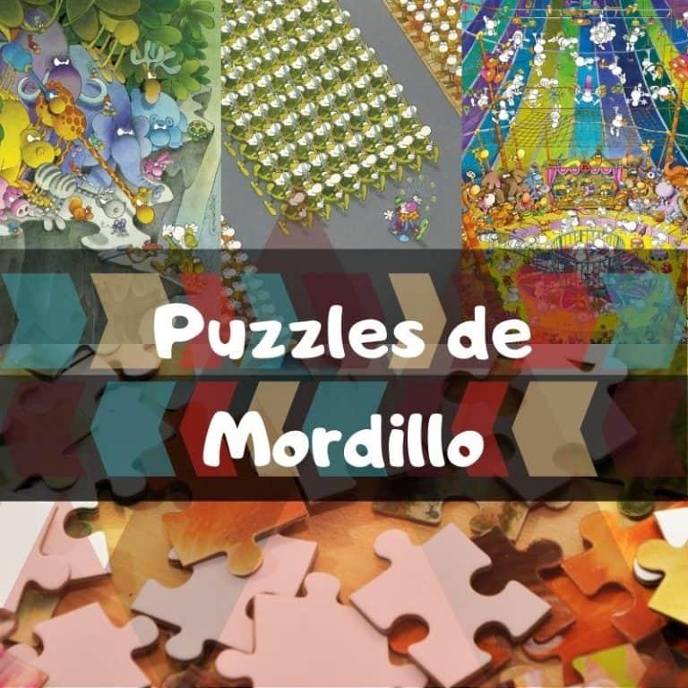 Los mejores puzzles de Mordillo