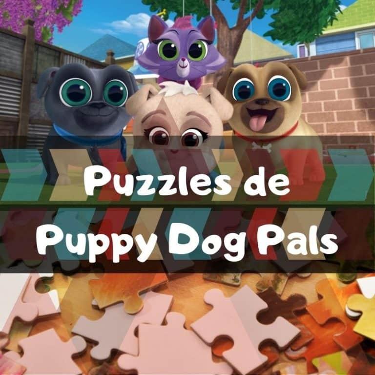 Los mejores puzzles de Puppy Dog Pals