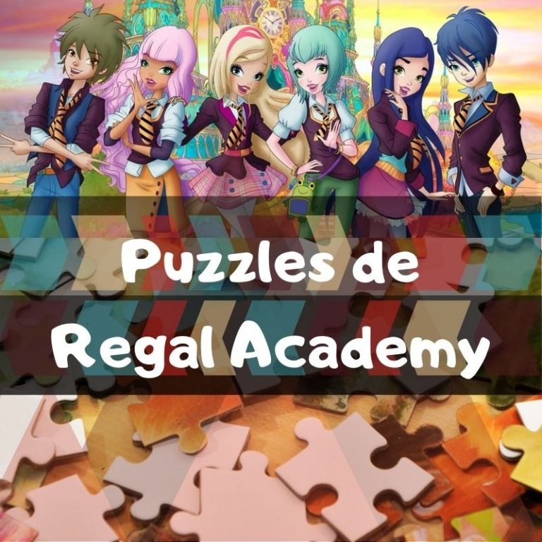 Los mejores puzzles de Regal Academy