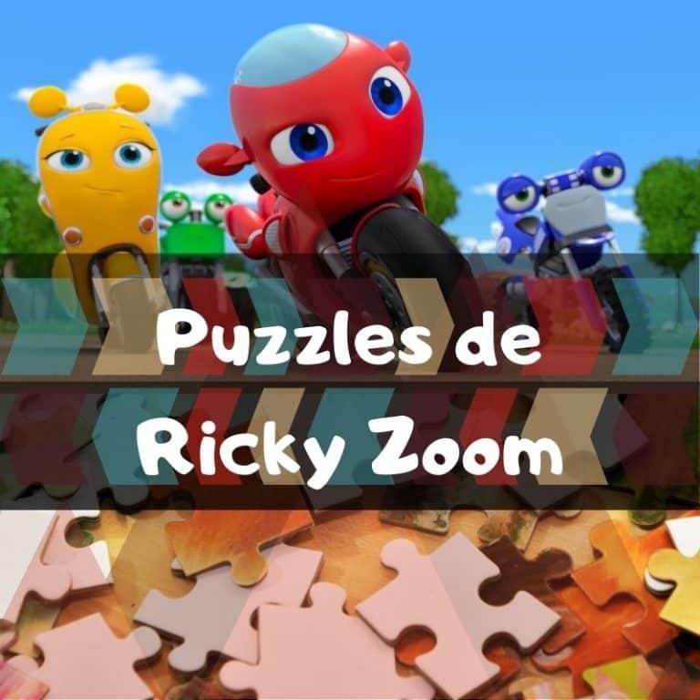 Los mejores puzzles de Ricky Zoom
